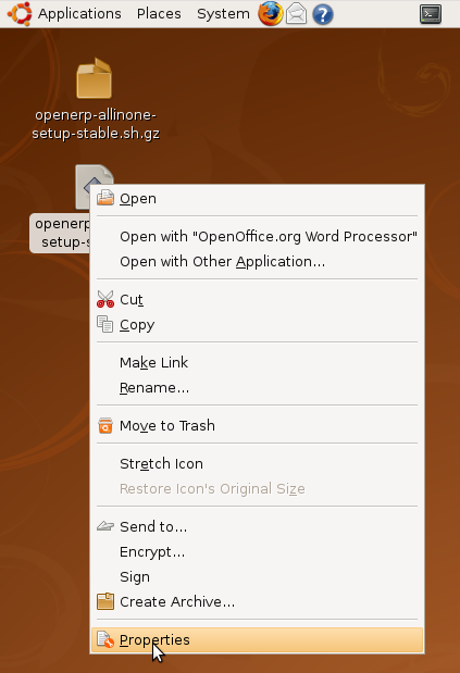 OpenERP installation: All-in-One for Ubuntu with updates (latest