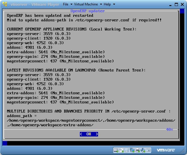 Turnkey « OpenERP Appliance